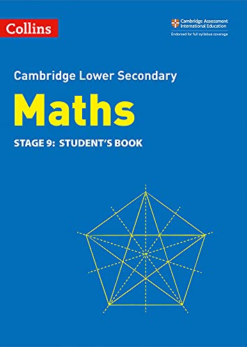 Lower Secondary Maths Student's Book: Stage 9