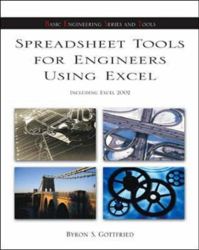 Spreadsheet Tools for Engineers: Excel 2002 Version