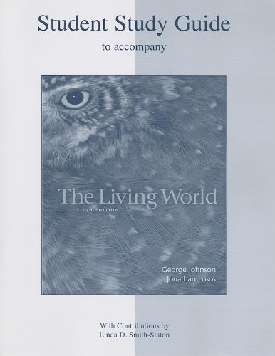 Student Study Guide to Accompany the Living World
