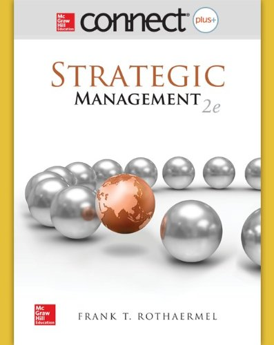 Connect 1-Semester Access Card for Strategic Management
