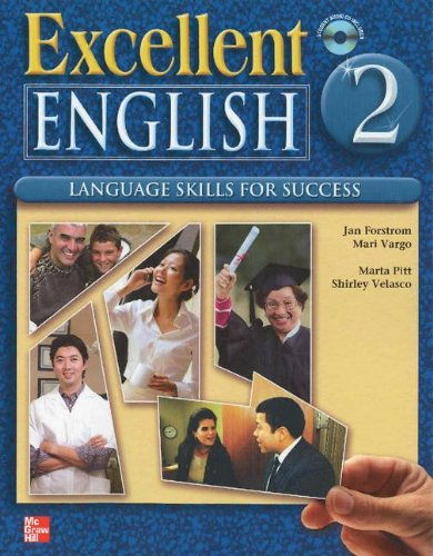 Excellent English Level 2 Student Book with Audio Highlights and Workbook with Audio CD Pack