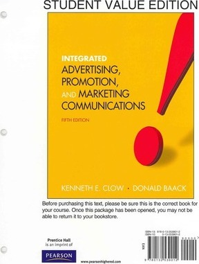 Integrated Advertising, Promotion and Marketing Communications with Access Card