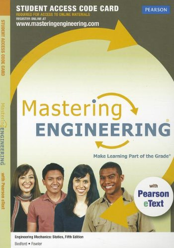 MasteringEngineering with Pearson EText - Standalone Access Card - for Engineering Mechanics