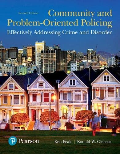 Community and Problem-Oriented Policing