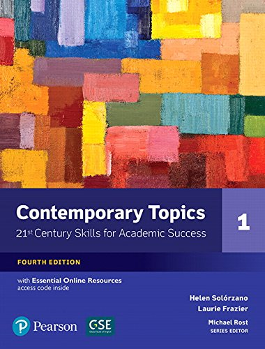 Contemporary Topics 1 with Essential Online Resources