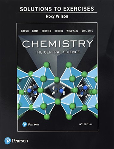 Solutions Manual to Exercises for Chemistry