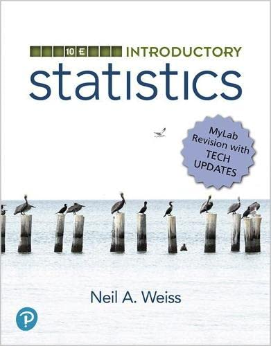 Introductory Statistics, MyLab Revision