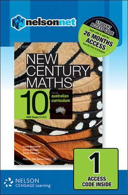 New Century Maths 10 for the Australian Curriculum NSW (1 Access Code Card)