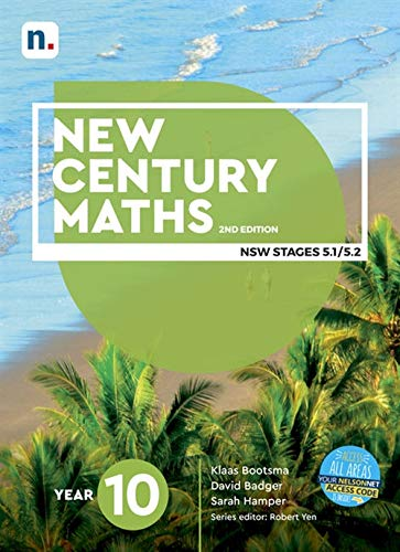 New Century Maths 10 NSW Stages 5.1/5.2 Access code (Student Book with 1 Access code)
