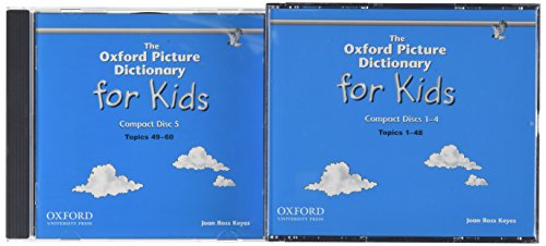 The Oxford Picture Dictionary for Kids: Audio CDs