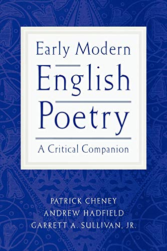 Early Modern English Poetry