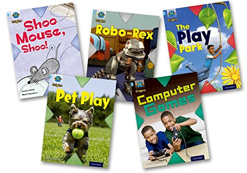 Project X Origins: Light Blue Book Band, Oxford Level 4: Toys and Games: Mixed Pack of 5