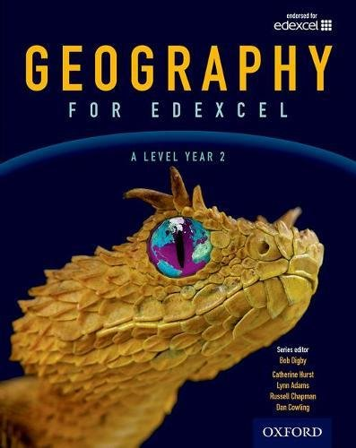 Geography for Edexcel A Level Year 2 Student Book
