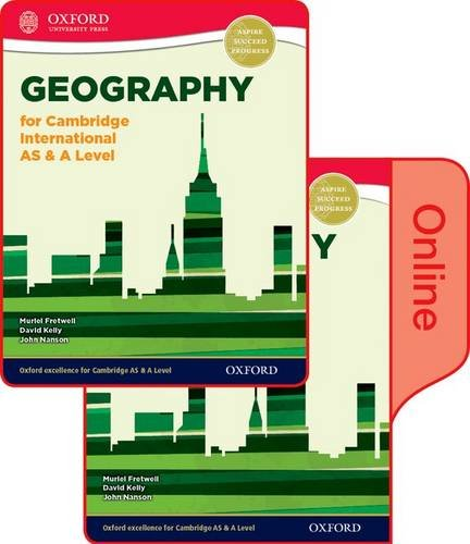 Geography for Cambridge International AS & A Level Print and Online