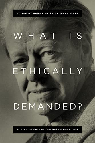 What Is Ethically Demanded?