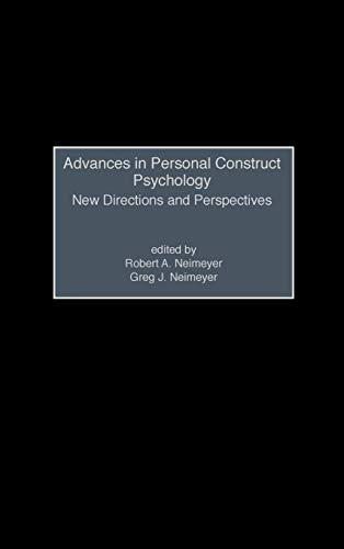Advances in Personal Construct Psychology