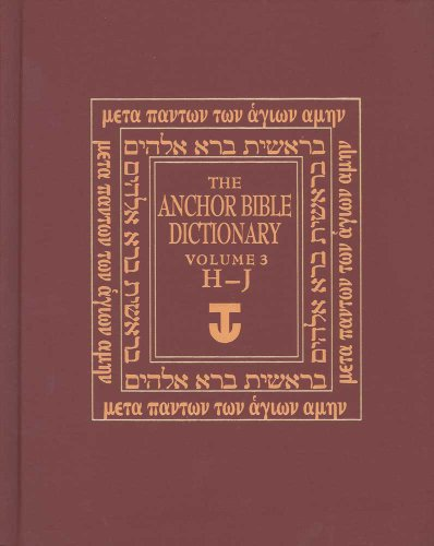 The Anchor Yale Bible Dictionary, H-J