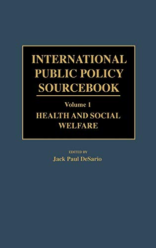 International Public Policy Sourcebook
