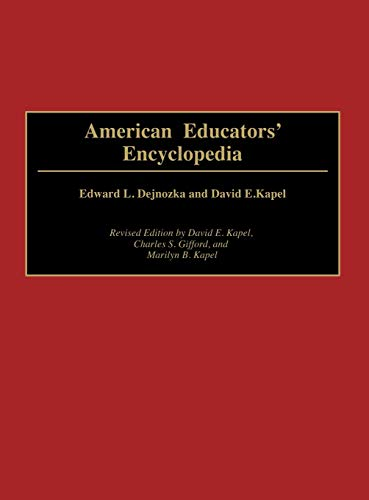 American Educators' Encyclopedia, 2nd Edition