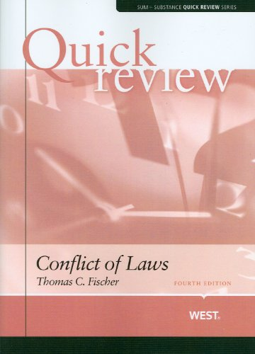 Sum and Substance Quick Review on Conflict of Laws