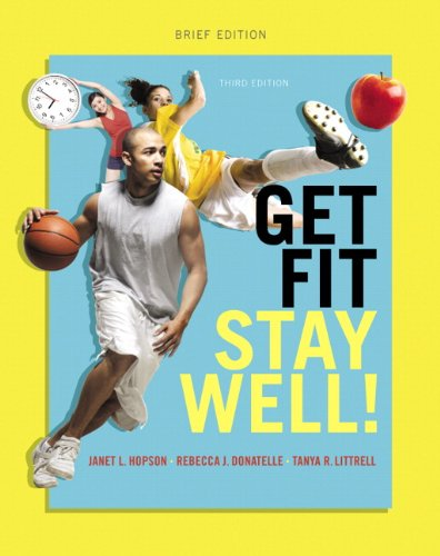 Get Fit, Stay Well! Brief Edition