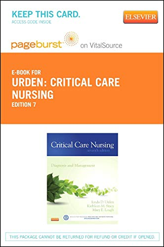 Critical Care Nursing - Elsevier eBook on Vitalsource (Retail Access Card)
