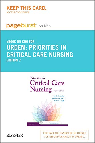 Priorities in Critical Care Nursing - Elsevier eBook on Intel Education Study (Retail Access Card)