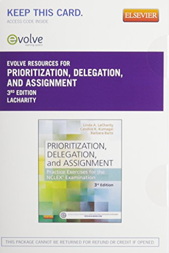 Prioritization, Delegation, and Assignment - Elsevier eBook on Vitalsource + Evolve Access (Retail Access Cards)