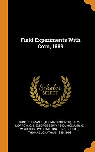 Field Experiments with Corn, 1889