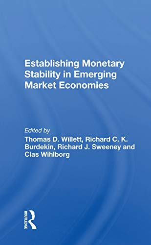 Establishing Monetary Stability In Emerging Market Economies