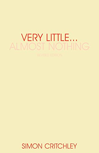 Very Little ... Almost Nothing