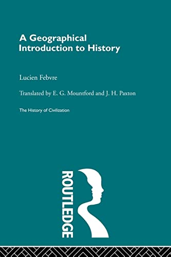 A Geographical Introduction to History