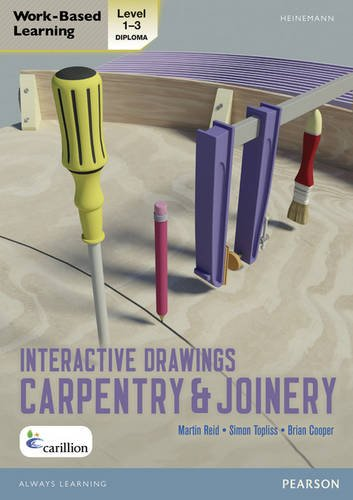 Level 1-3 NVQ/SVQ Diploma Carpentry and Joinery Interactive Drawings