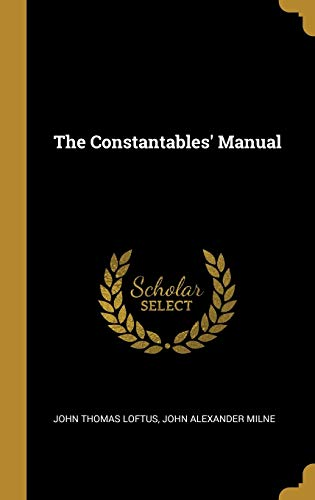 The Constantables' Manual