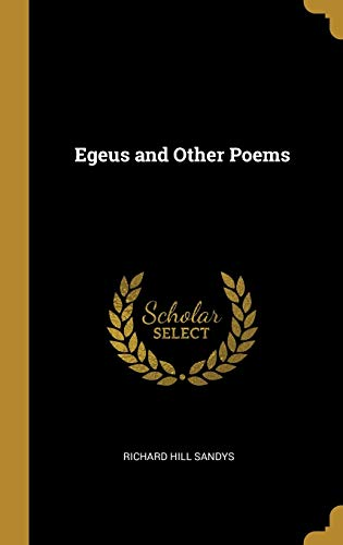Egeus and Other Poems