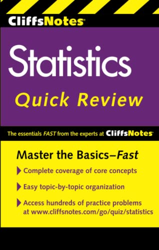 CliffsNotes Statistics Quick Review: 2nd Edition