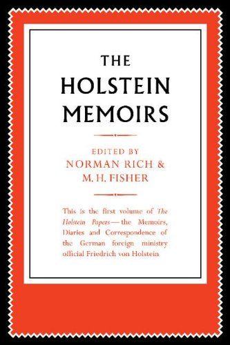The Holstein Papers 4 Volume Paperback Set