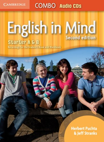 English in Mind Starter A and B Combo Audio CDs (3)