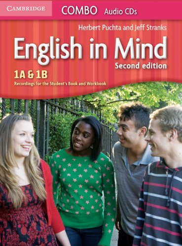 English in Mind Levels 1A and 1B Combo Audio CDs (3)