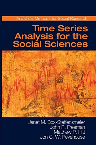 Time Series Analysis for the Social Sciences