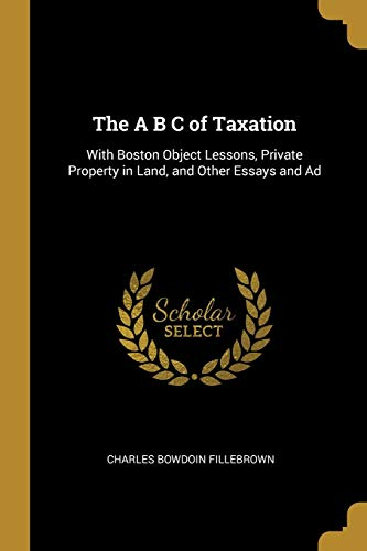 The A B C of Taxation