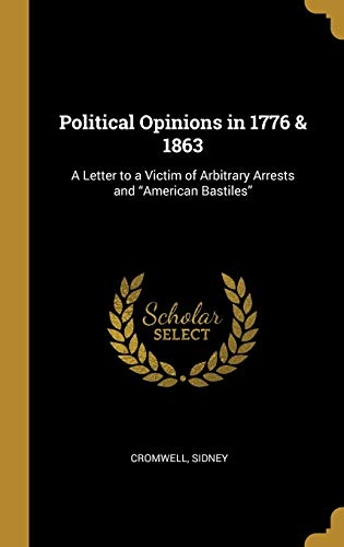 Political Opinions in 1776 & 1863