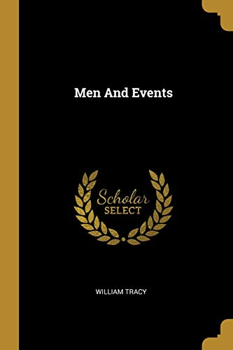 Men and Events