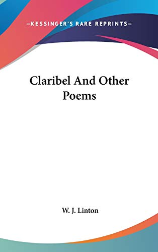 Claribel And Other Poems