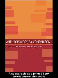 Anthropology, by Comparison
