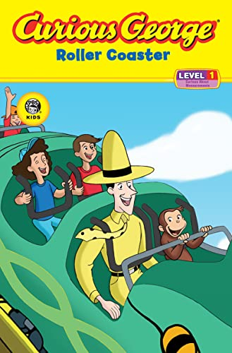 Curious George Roller Coaster (Reader Level 1)