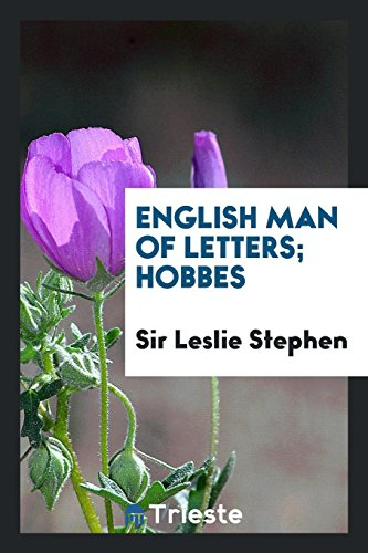 English Man of Letters; Hobbes