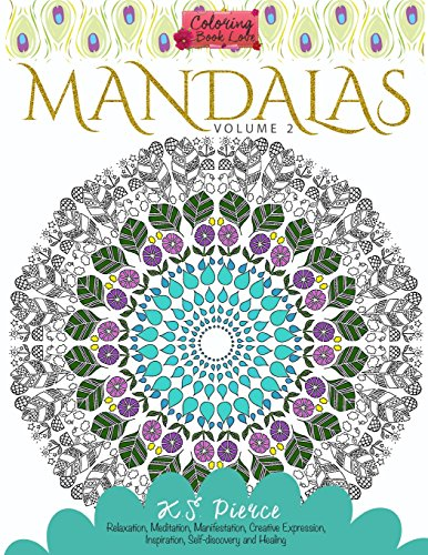 Coloring Book Love Mandalas Volume 2