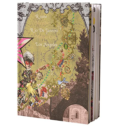 """Christian Lacroix Voyage 2 B5 10"""" X 7"""" Hardcover Journal"""
