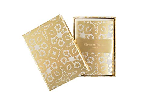 Christian Lacroix Oro Y Plata Correspondence Diecut Boxed Notecards